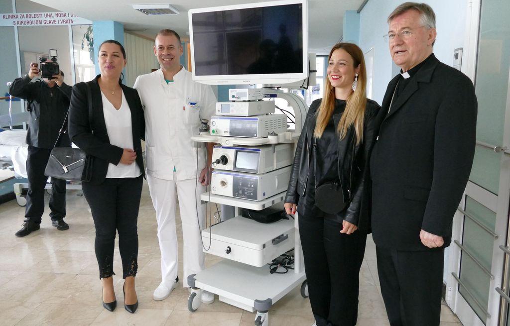 Slikovni rezultat za Dar Splitsko-makarske nadbiskupije Klinici za dječju kirurgiju
