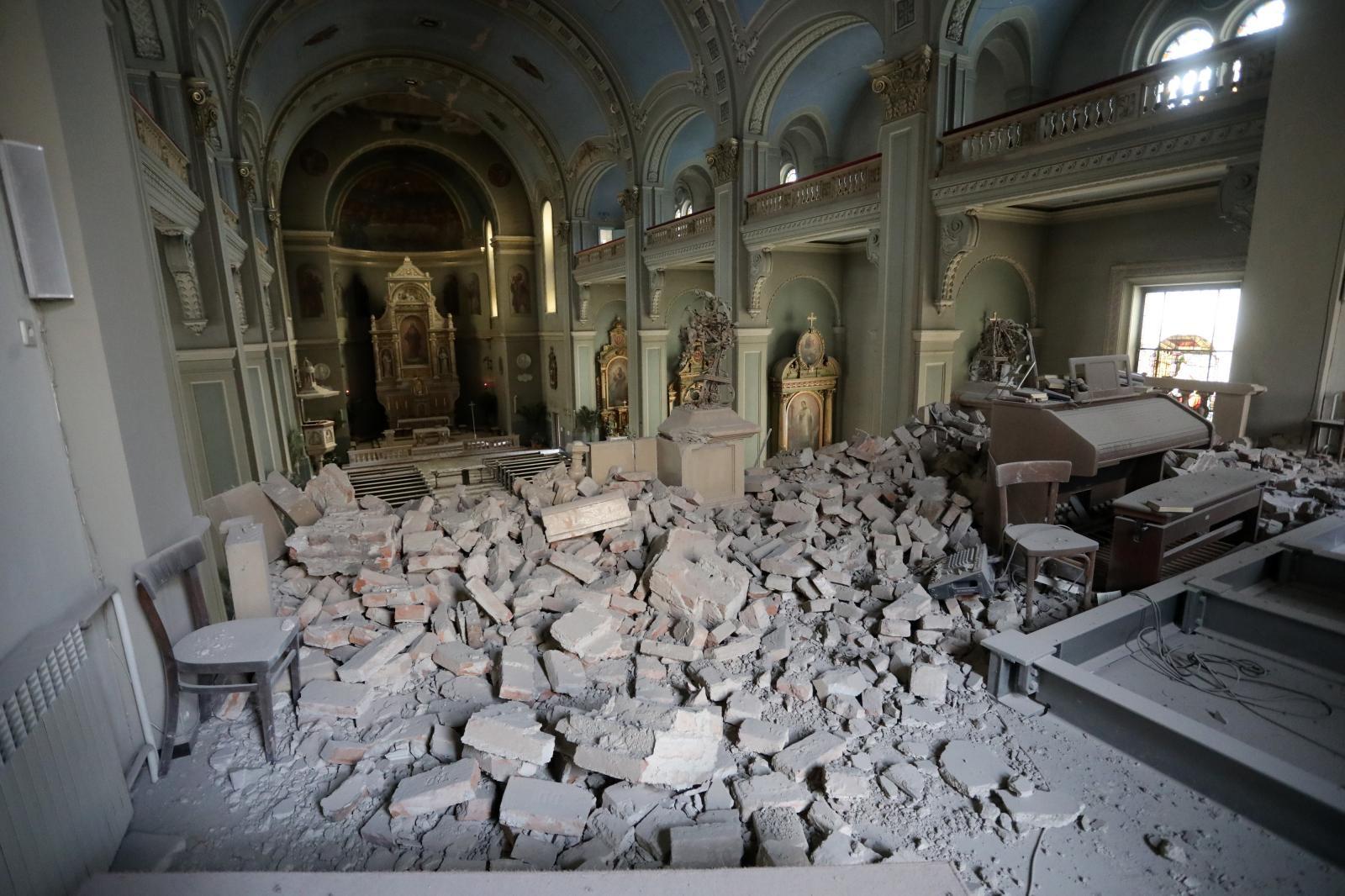 Potres Ostetio Brojne Crkve U Zagrebu I Okolici Ika