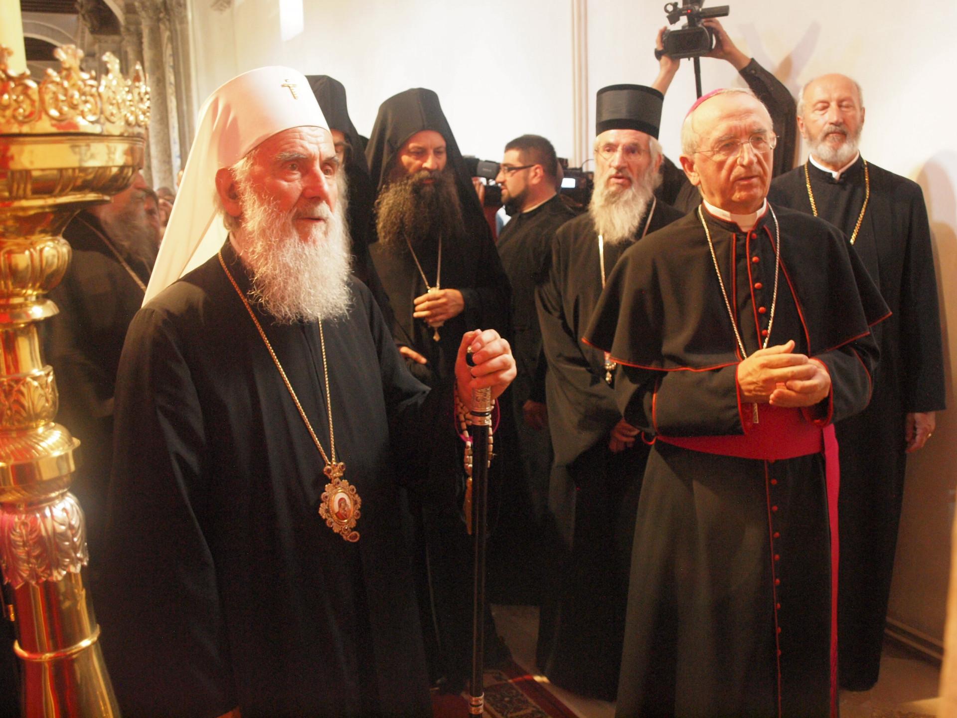 Sućut Srpskoj pravoslavnoj Crkvi predsjednika HBK nadbiskupa Puljića u  povodu smrti patrijarha Irineja - IKA