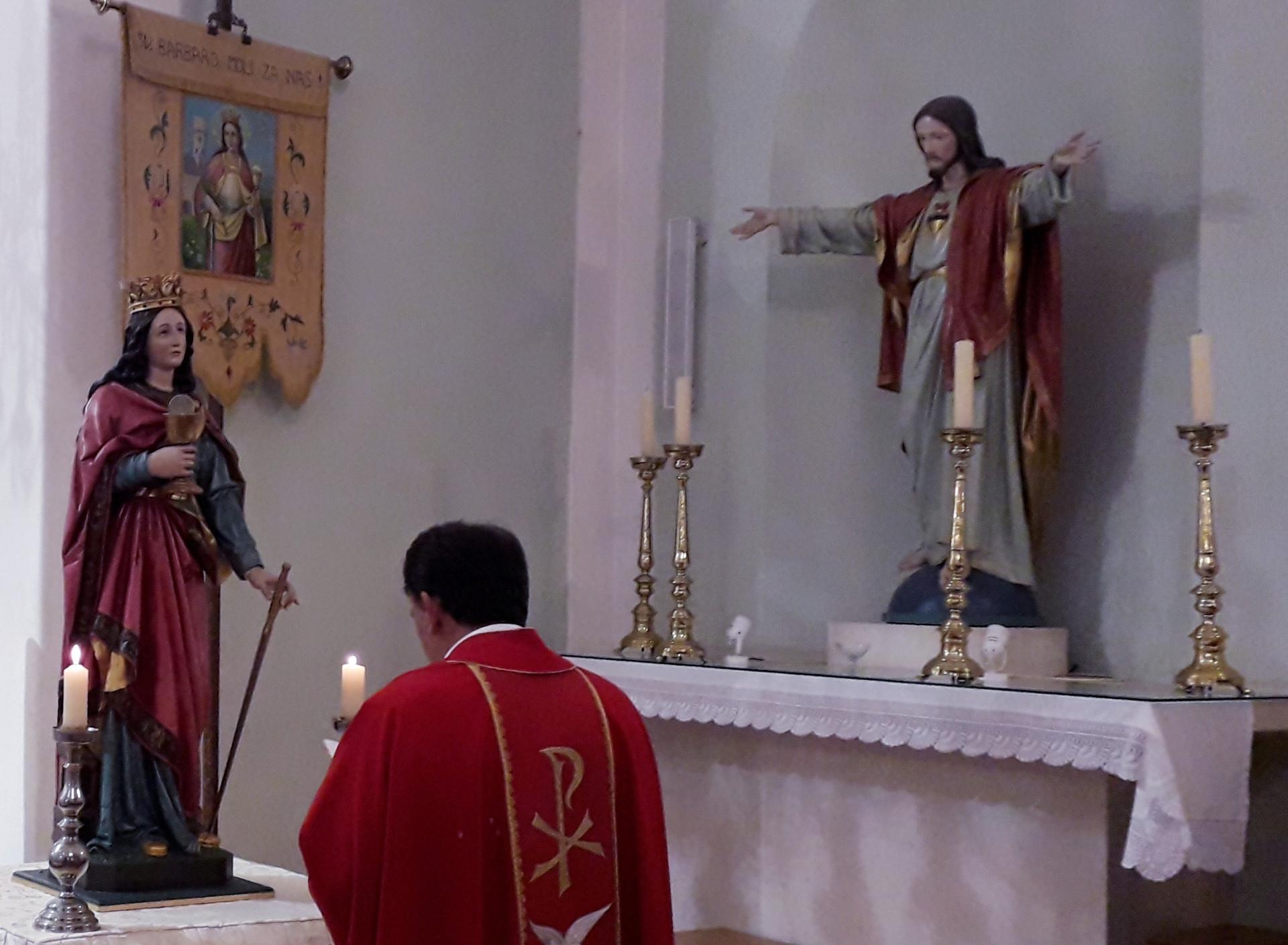 Blagdan sv. Barbare proslavljen u Kominu - IKA